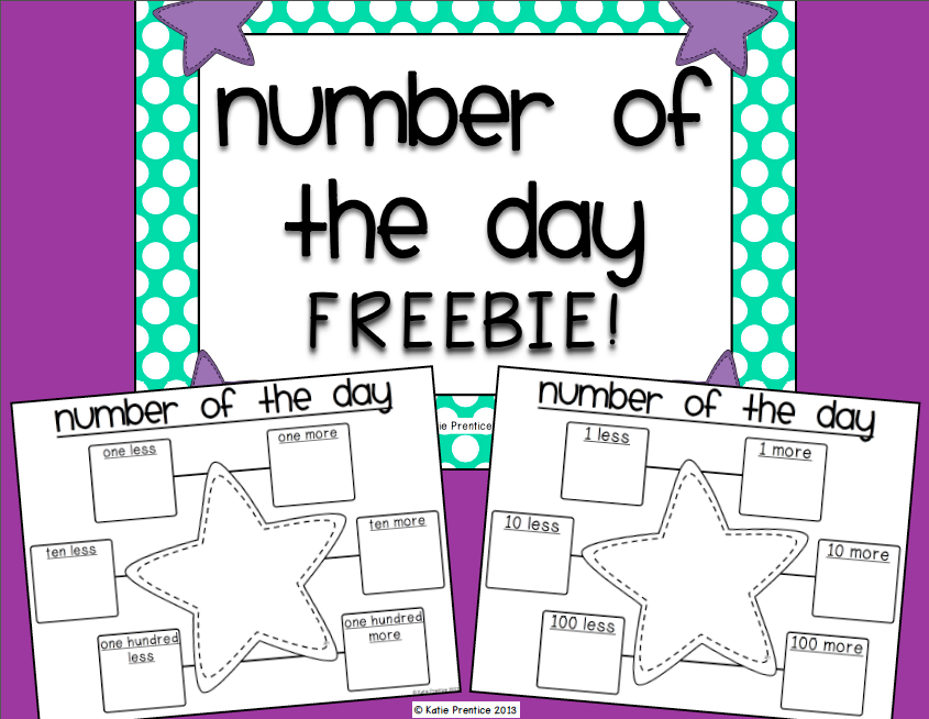 http://www.teacherspayteachers.com/Product/Number-of-the-Day-FREEBIE-761990