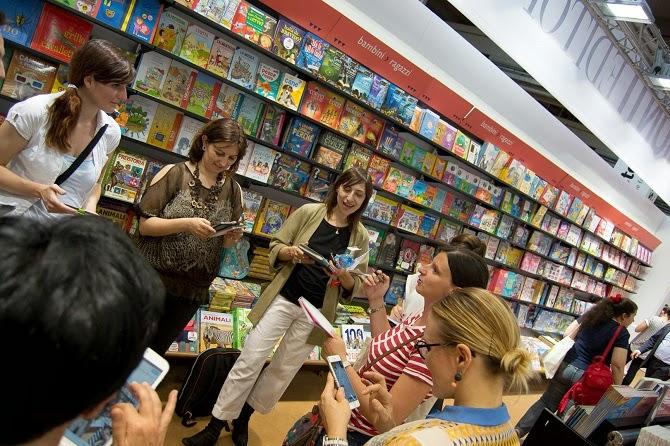 blogger incontro Giunti Salone del Libro 2015 libri smartphone