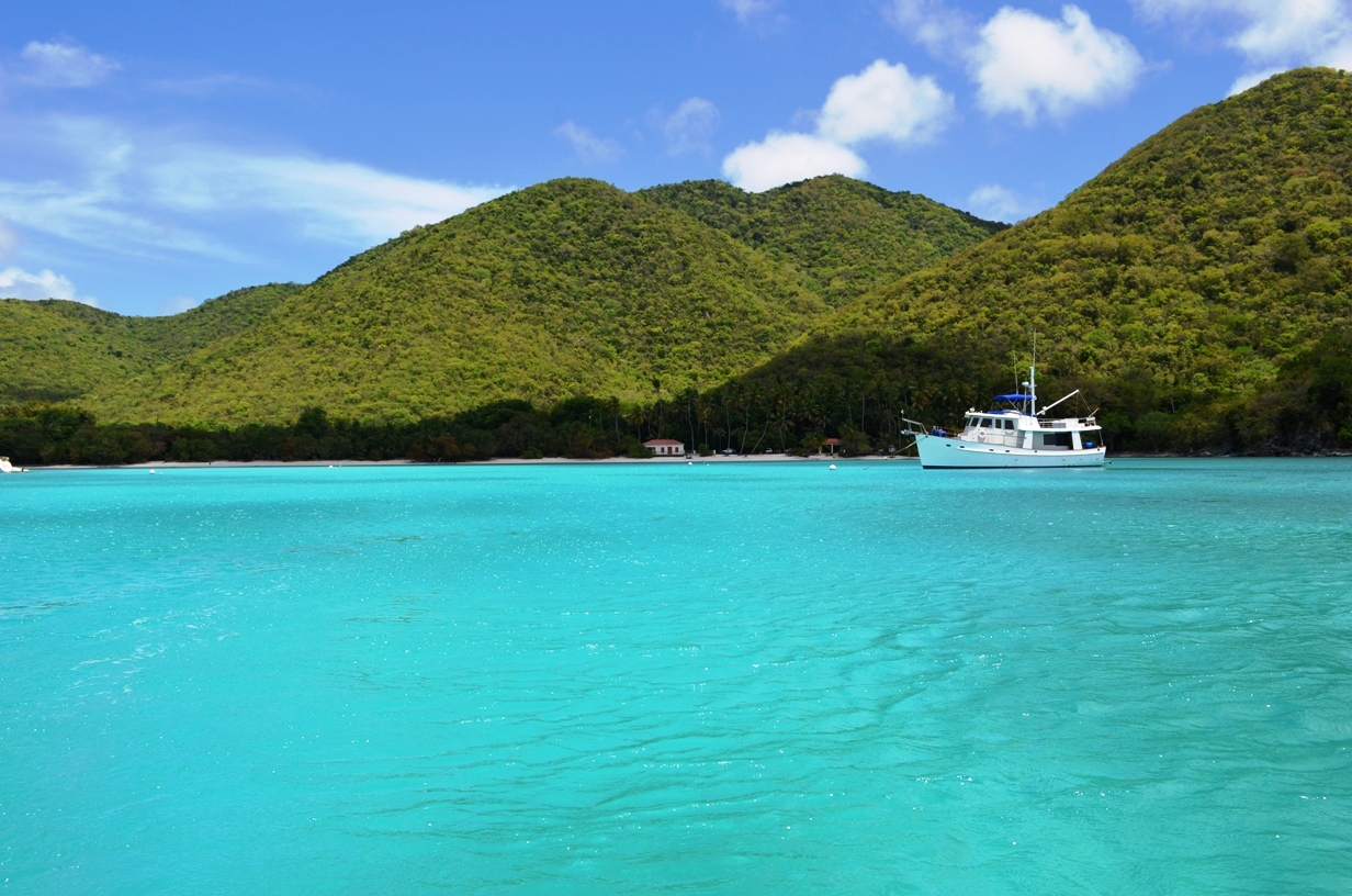 st john is very unspoiled and is predominantly a national park it really is beautiful