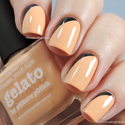 Picture Polish - Gelato | Ruffian nail art