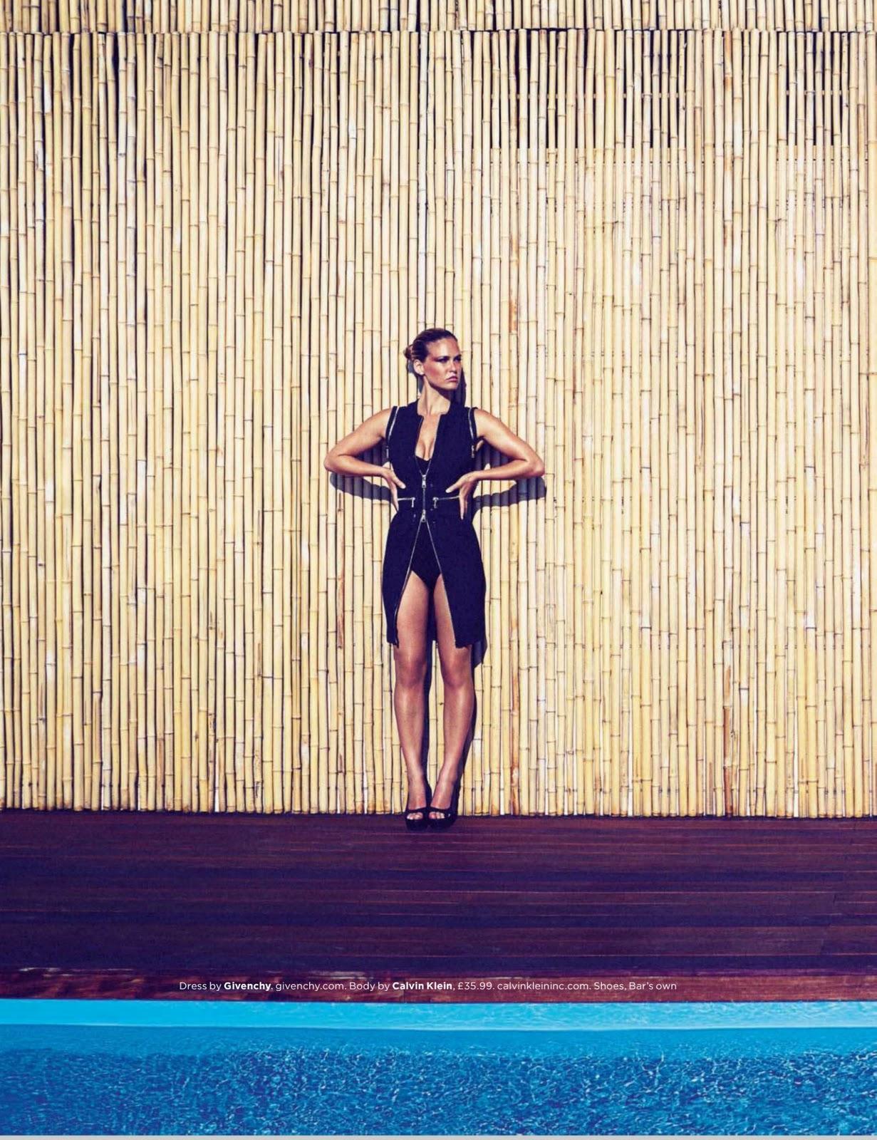 Bar Refaeli (GQ UK, Sep 2011) HQ - Models Inspiration