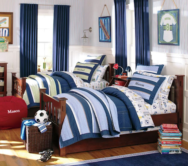 Boy Sports Bedroom Ideas