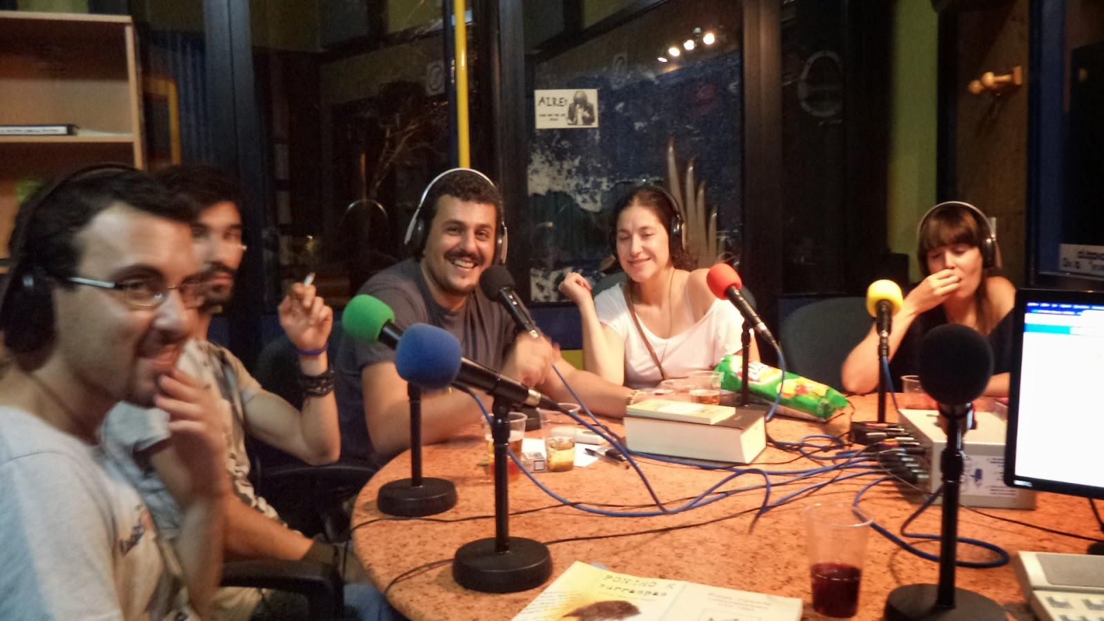 La Madriguera. Poesía en el programa radio en Toledo.