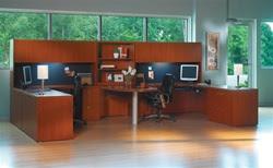 Mayline Aberdeen Series Typical Muti User Workstation