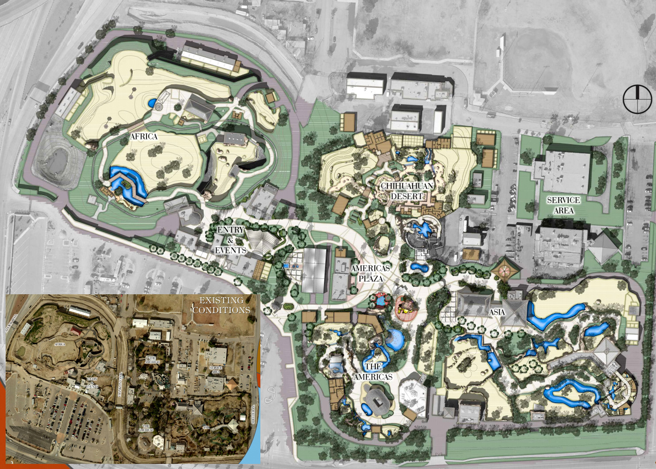 El Paso Development News El Paso Zoo Master Plan New