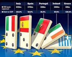 επιπτώσεις της συγκράτησης των μισθών σε πέντε χώρες της Ευρωζώνης - την Ελλάδα, την Ιρλανδία, την Πορτογαλία, την Ιταλία και την Ισπανία