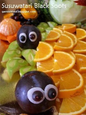 black soots edible arrangement