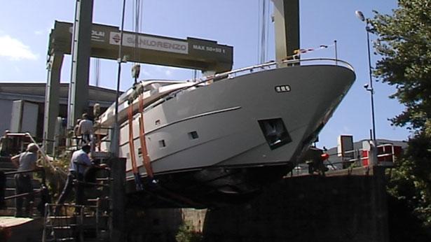 The Italian shipyard Sanlorenzo has splashed their recent yacht, ...