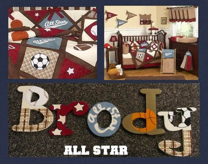 The Funky Letter Boutique Fun Decorating Ideas For A Boy