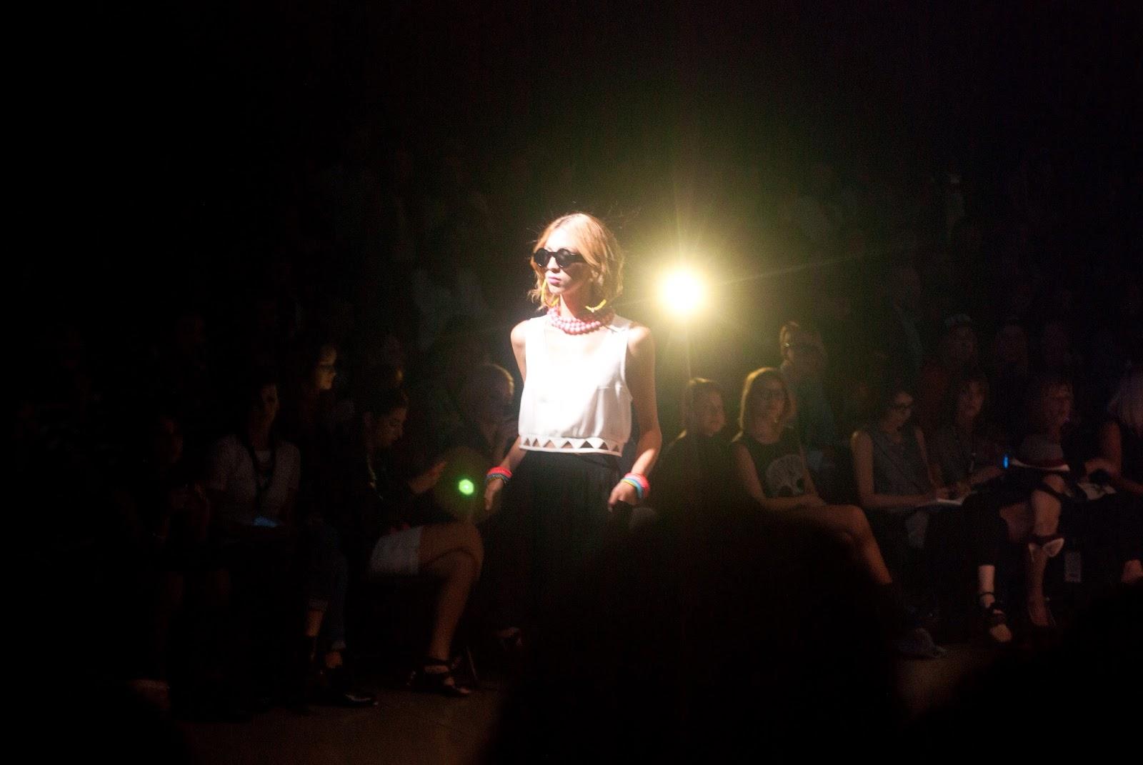 montreal fashion week eve gravel show runway catwalk