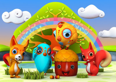 Cute 3D Characters by Teodoru Badiu Seen On www.coolpicturegallery.us