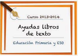 AYUDAS LIBROS DE TEXTO 2013/2014