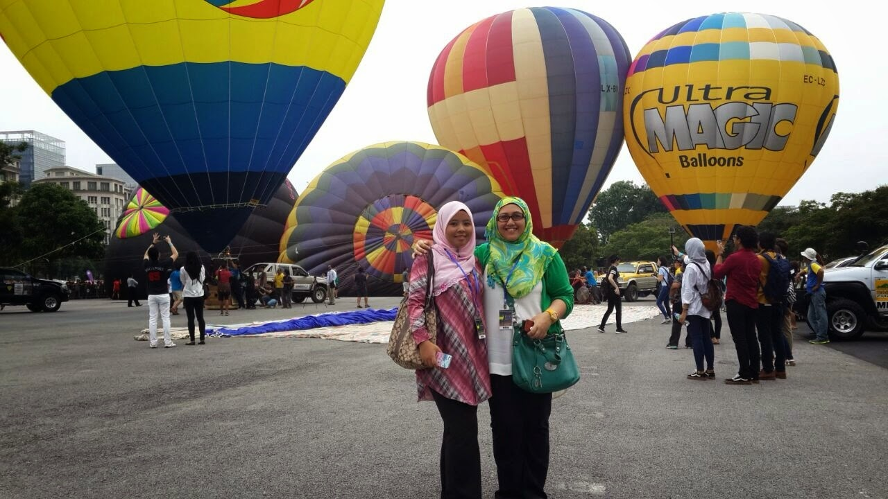 1st Day Putrajaya International Hot Air Balloon Fiesta 2015
