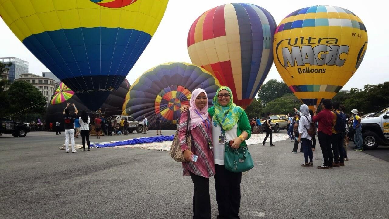 1st Day Putrajaya International Hot Air Balloon Fiesta 2015