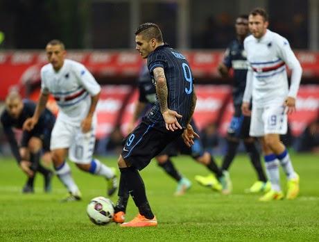 Liga Italia : Inter vs Sampdoria 1-0