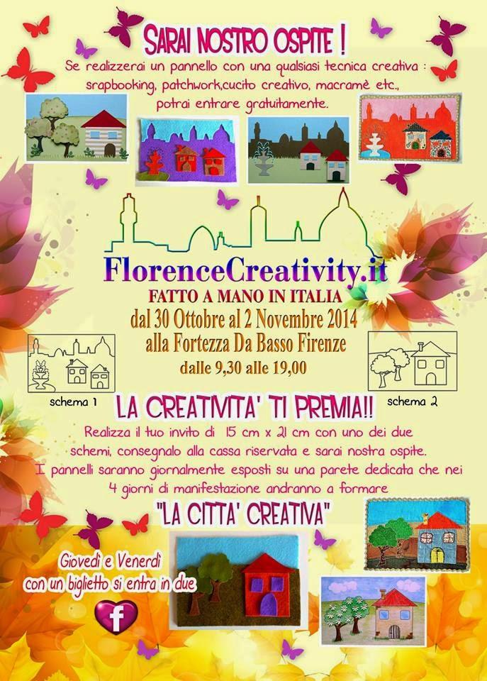 Florence Creativity 2014. Come entrare Gratuitamente.