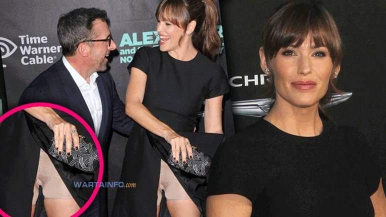 Foto Hot Rok Tersingkap Artis Seksi Hollywood jennifer Garner kelihatan celana dalam CD