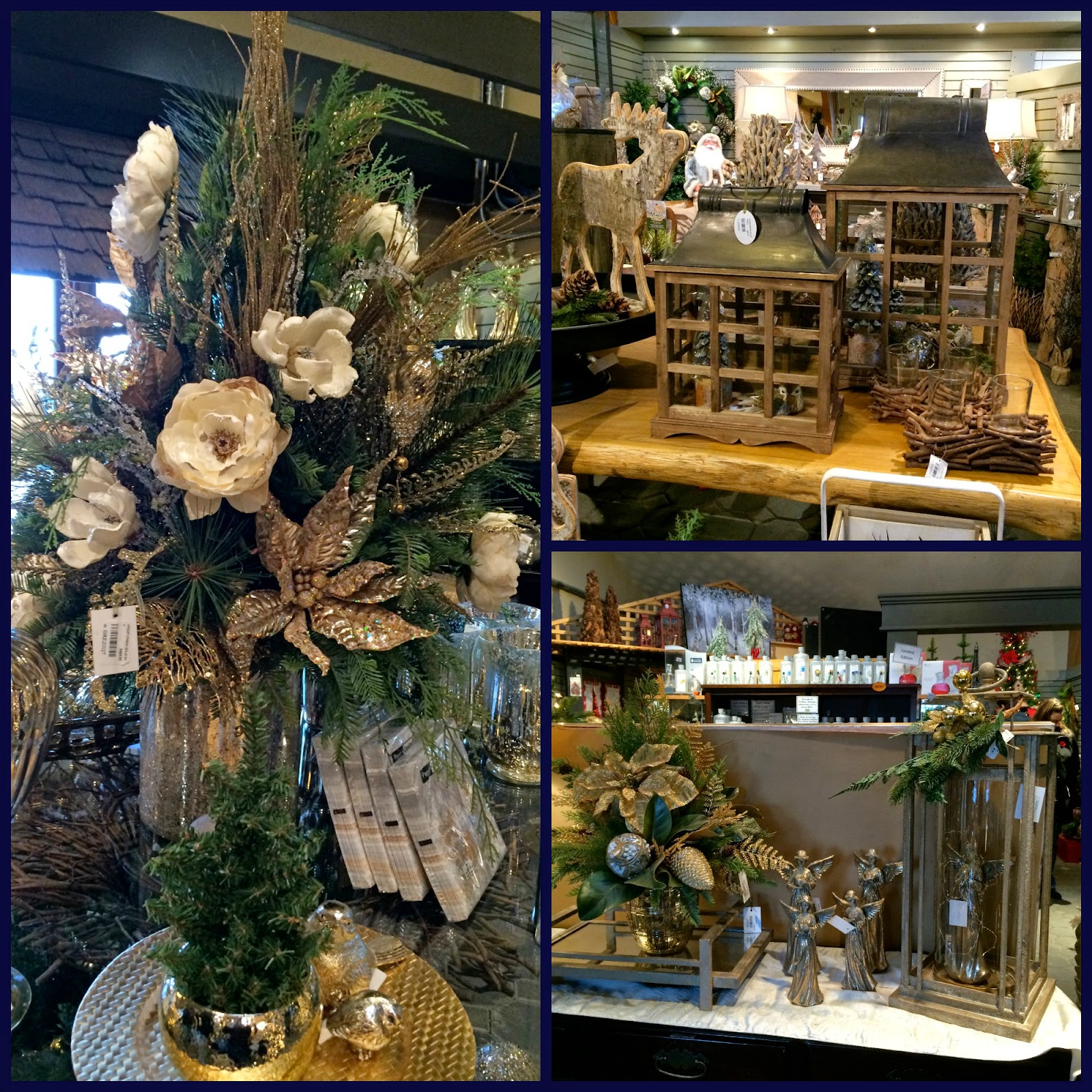 LIVING THE GARDENING LIFE: More Christmas at Greenland Garden Centre ...
