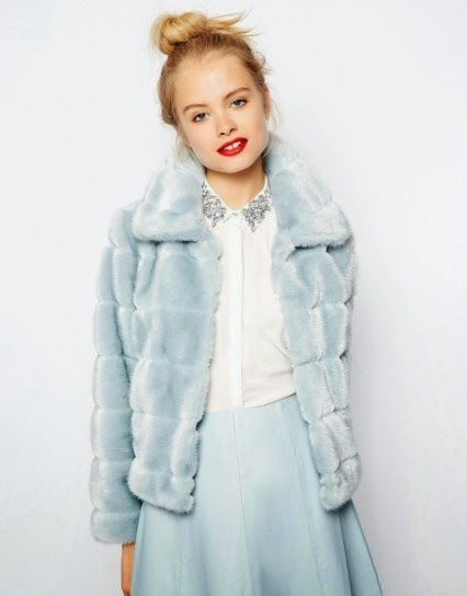 pellicce tendenza autunno inverno 2015 pelliccia asos azzurra corta fashion blog italiani fashion blogger italiane colorblock by felym mariafelicia magno fashion blogger