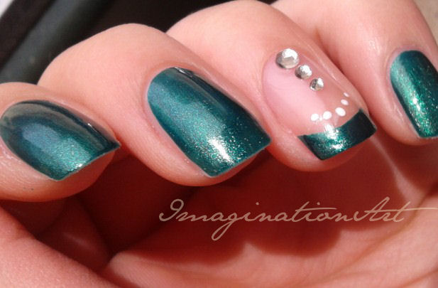 nail art araba arabic semplice easy elegante elegant