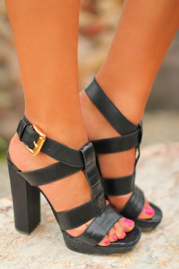Colección de zapatos elegantes para mujeres