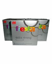 FIESTA EXTRA STRONG CONDOM