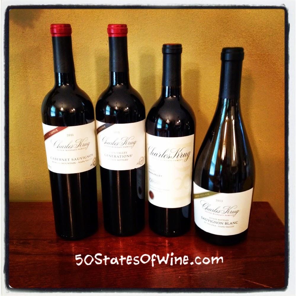 Charles Krug Winery Spring Releases