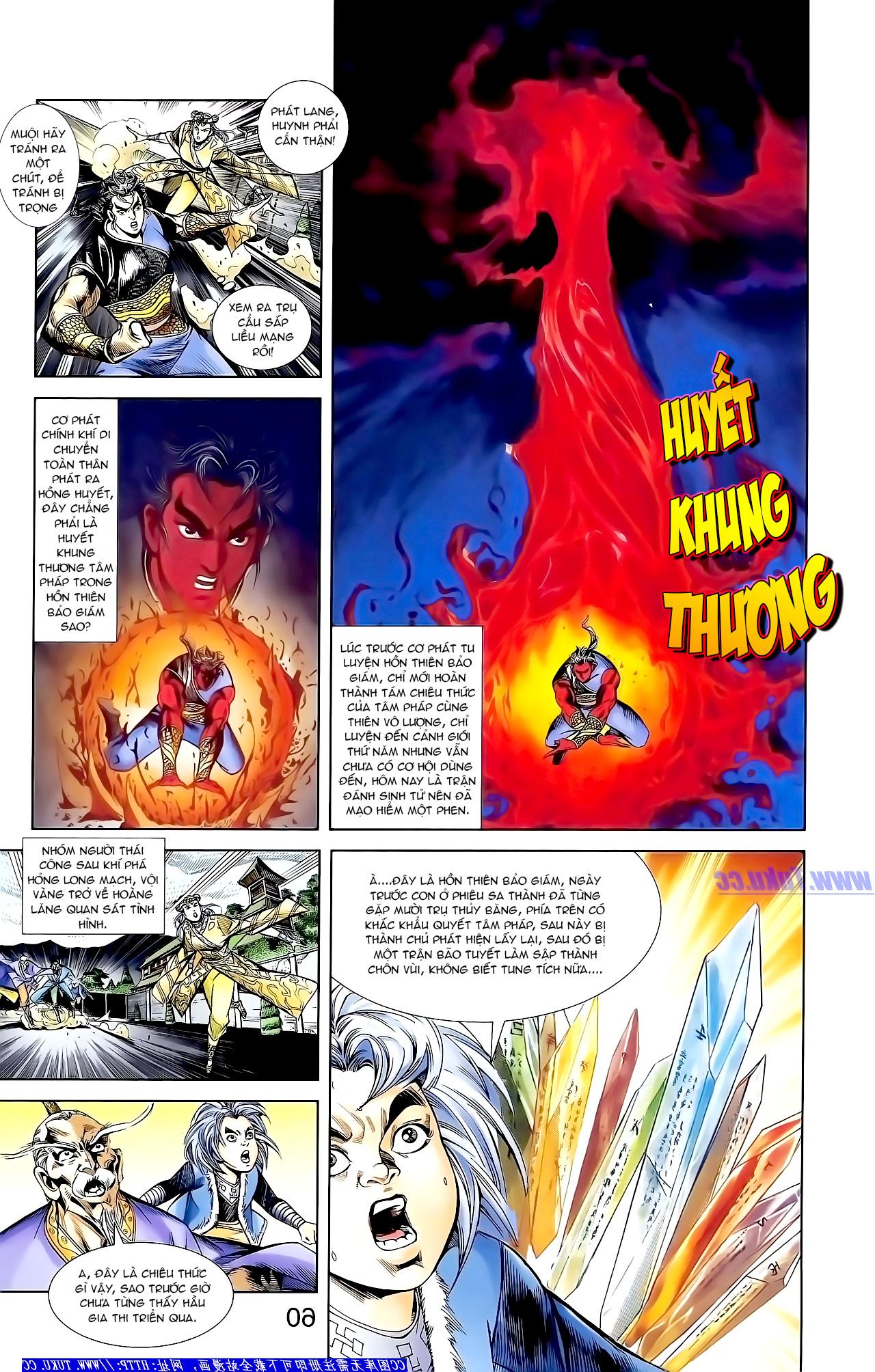 Cơ Phát Khai Chu bản Chap 163 - Trang 7