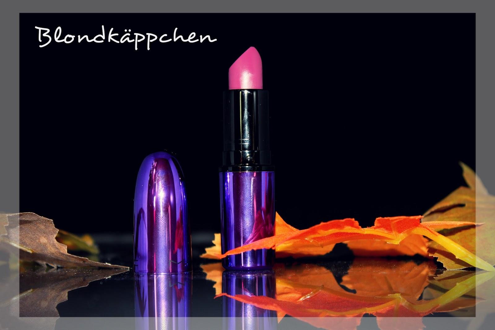 blondk ppchen mac evening rendezvous lipstick. Black Bedroom Furniture Sets. Home Design Ideas
