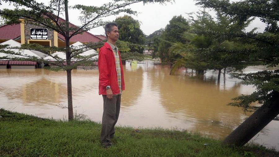 Severe Bad Flood at Bukit Angin Temerloh - Banjir besar di Temerloh