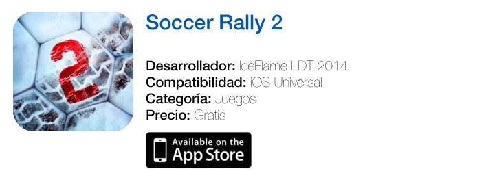 https://itunes.apple.com/es/app/soccer-rally-2/id568093498?mt=8