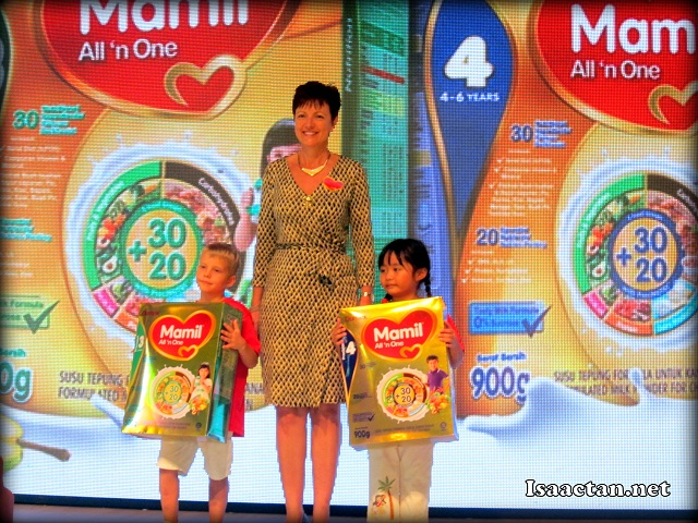 Danone Dumex Mamil All N One Launched