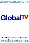 jadwal global tv besok