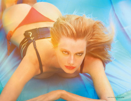 French 9X Model Sigrid Agren