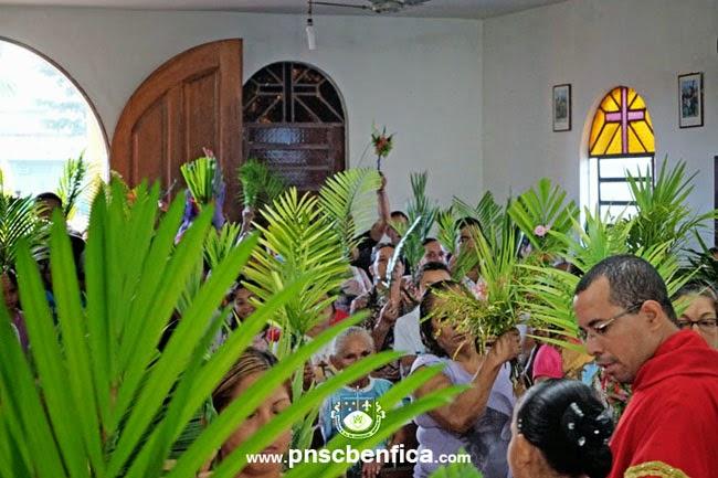 procissão de ramos santa maria benfica murinin