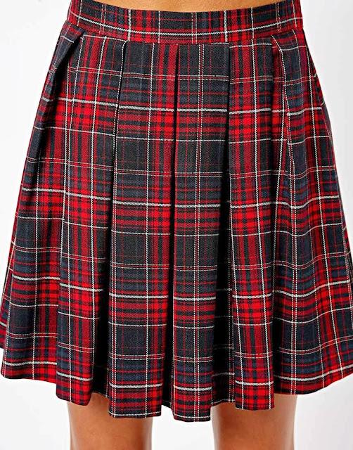 tartan kilt, tartan skirt,
