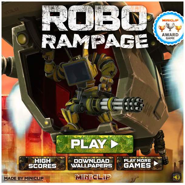 Game : RoboRampage