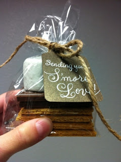 florida wedding smores favor