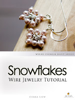Step By Step Wire Jewelry Tutorial - PIPA Earrings, Wired Chinese Knot