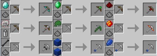 Как сделать кирку tinker construct