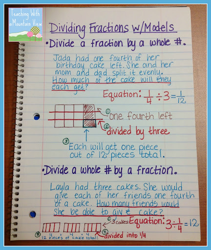 math worksheet : fifth grade fraction chart dividing fractions anchor chart 2d  : Division Fraction Word Problems Worksheets