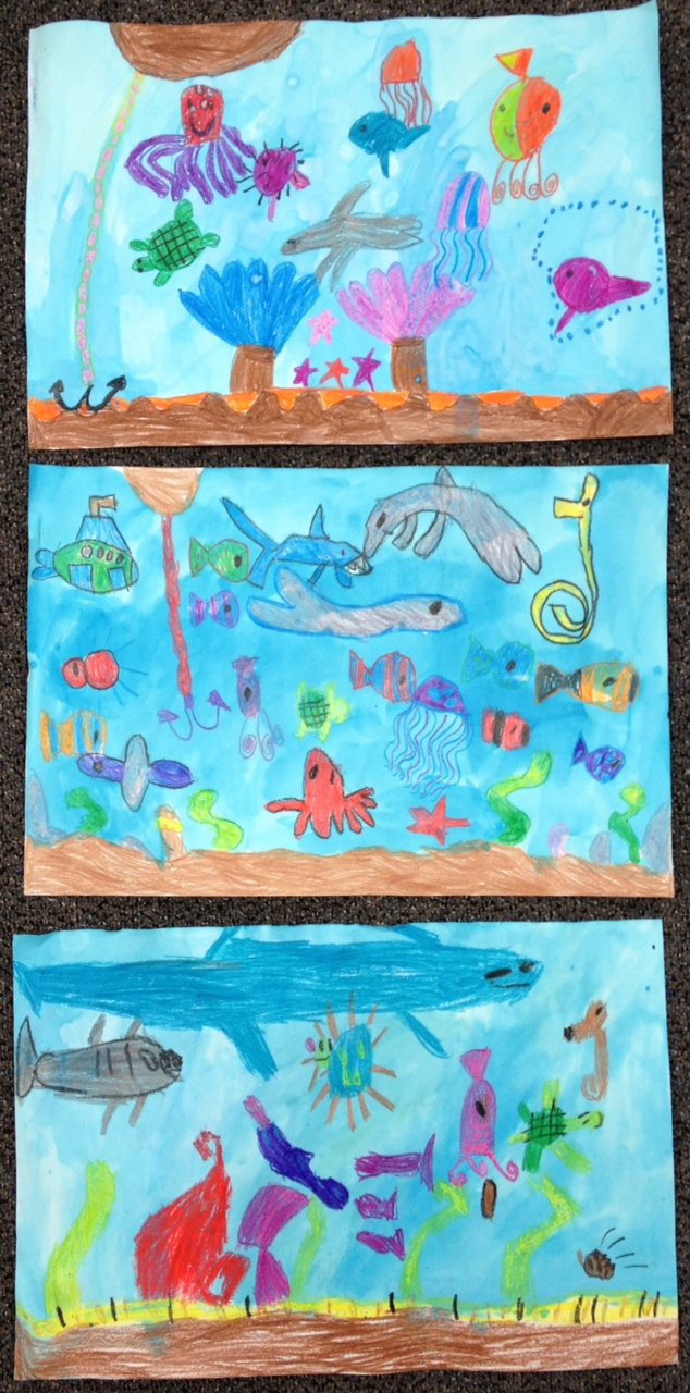 oceans of fun art in kinder apples and abc u0027s