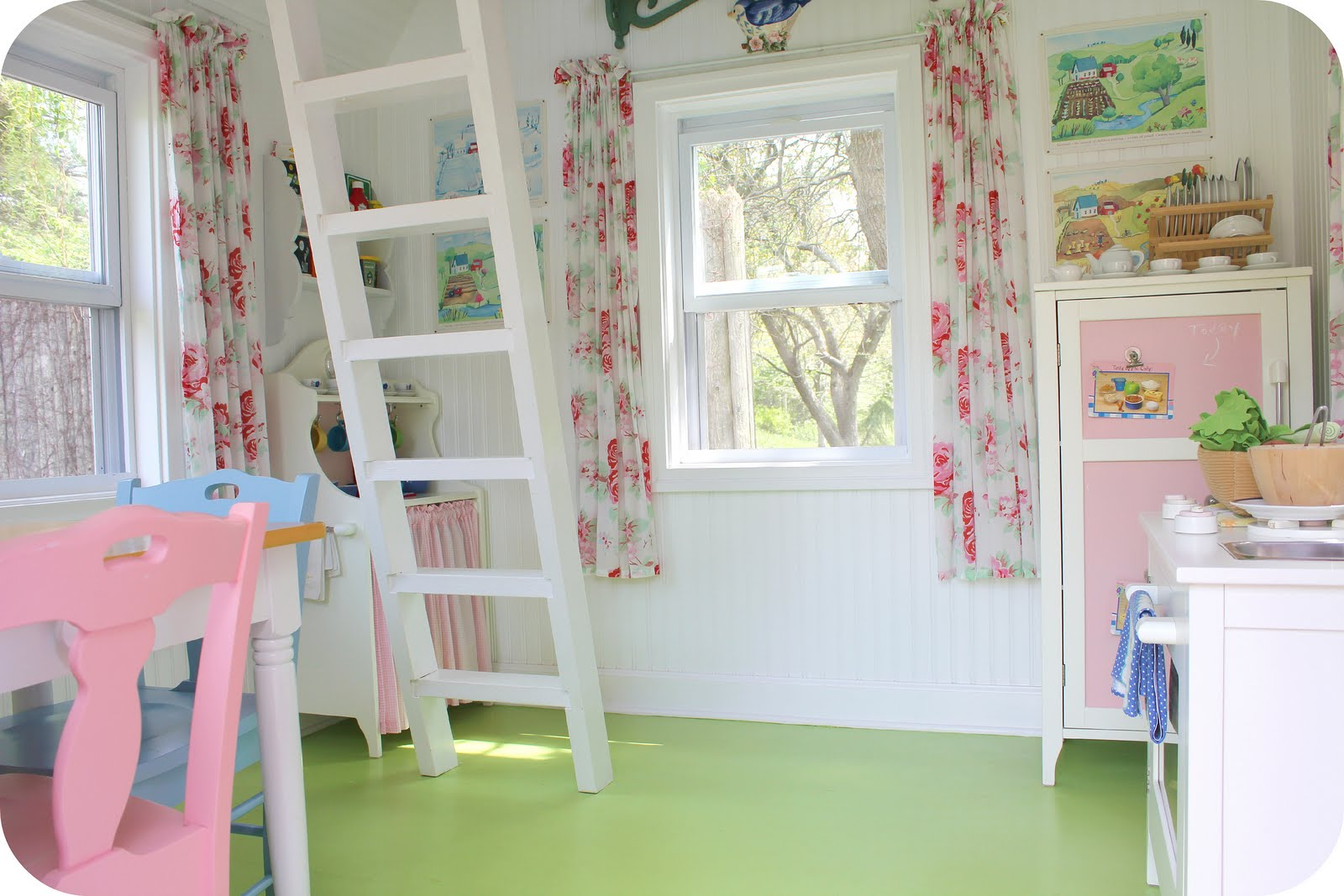 Outdoor dreams finding home farms for Playhouse ideas inside