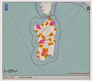 La mappa dei posti letto disponibili