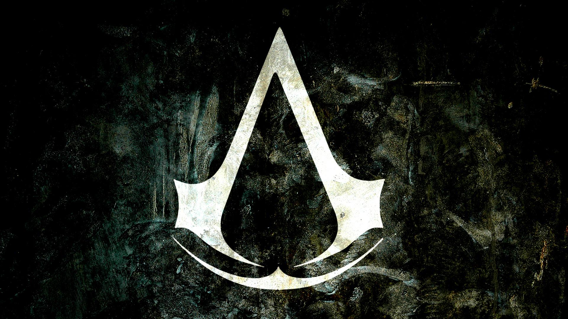 assassins creed game logo wallpaper hd