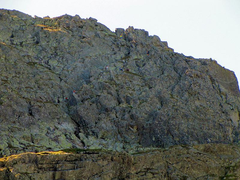 Północna ściana Kozich Czub.