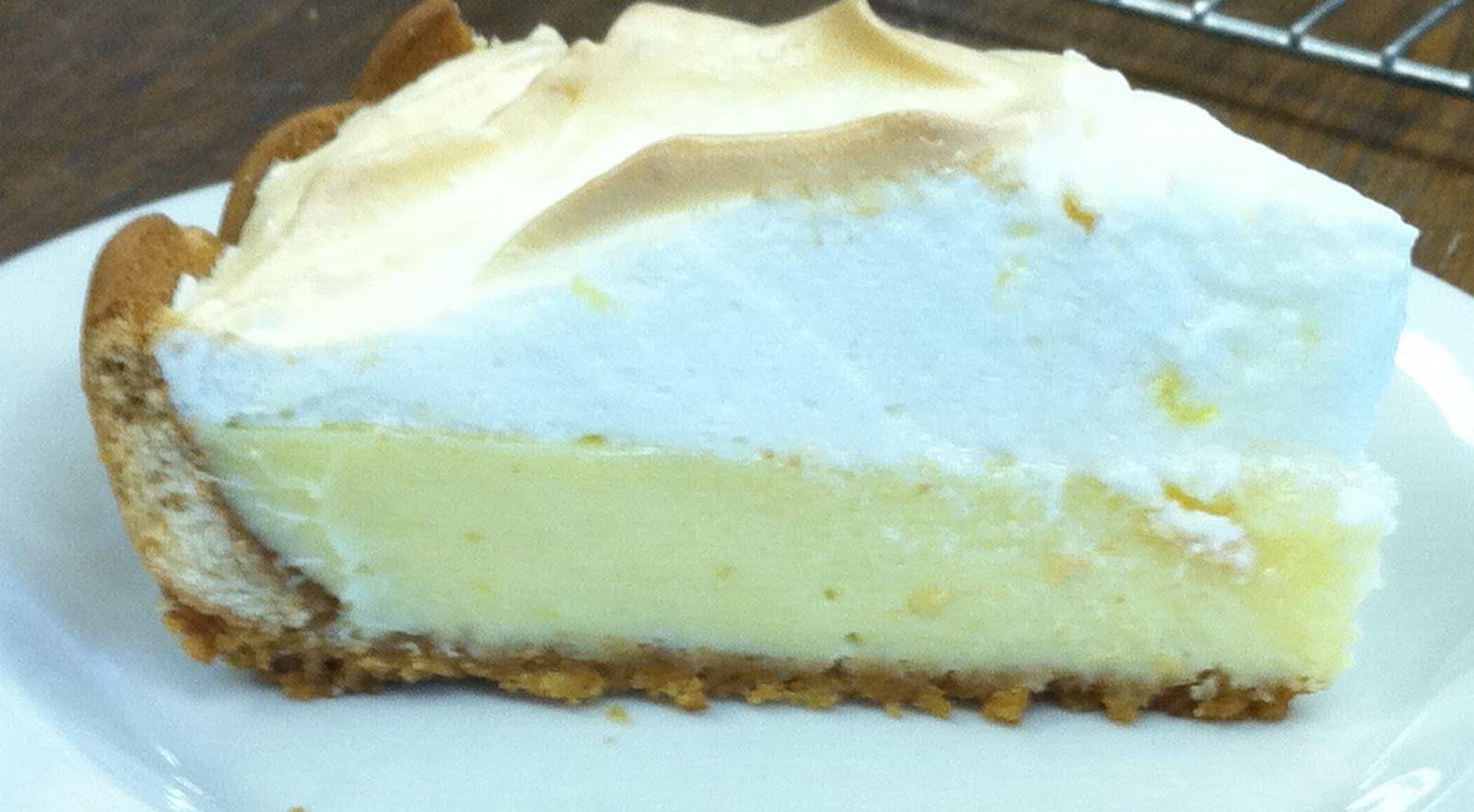 Discover foods national pi e day for Lemon meringue pie with graham cracker crust