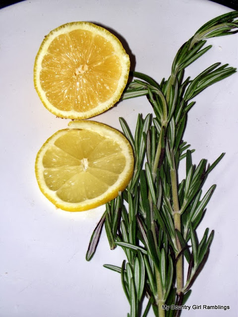 <Lemon and Rosemary>