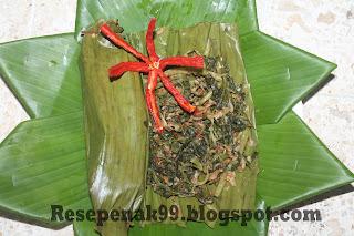 Resep Pepes Kangkung Ikan Teri