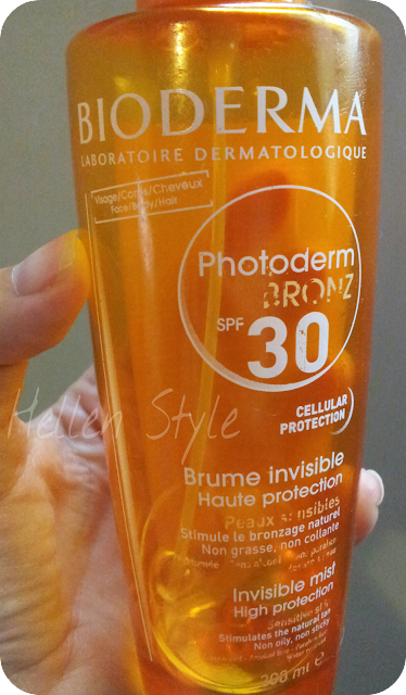 Photoderm bronz SPF 30 bruma invisible de Bioderma